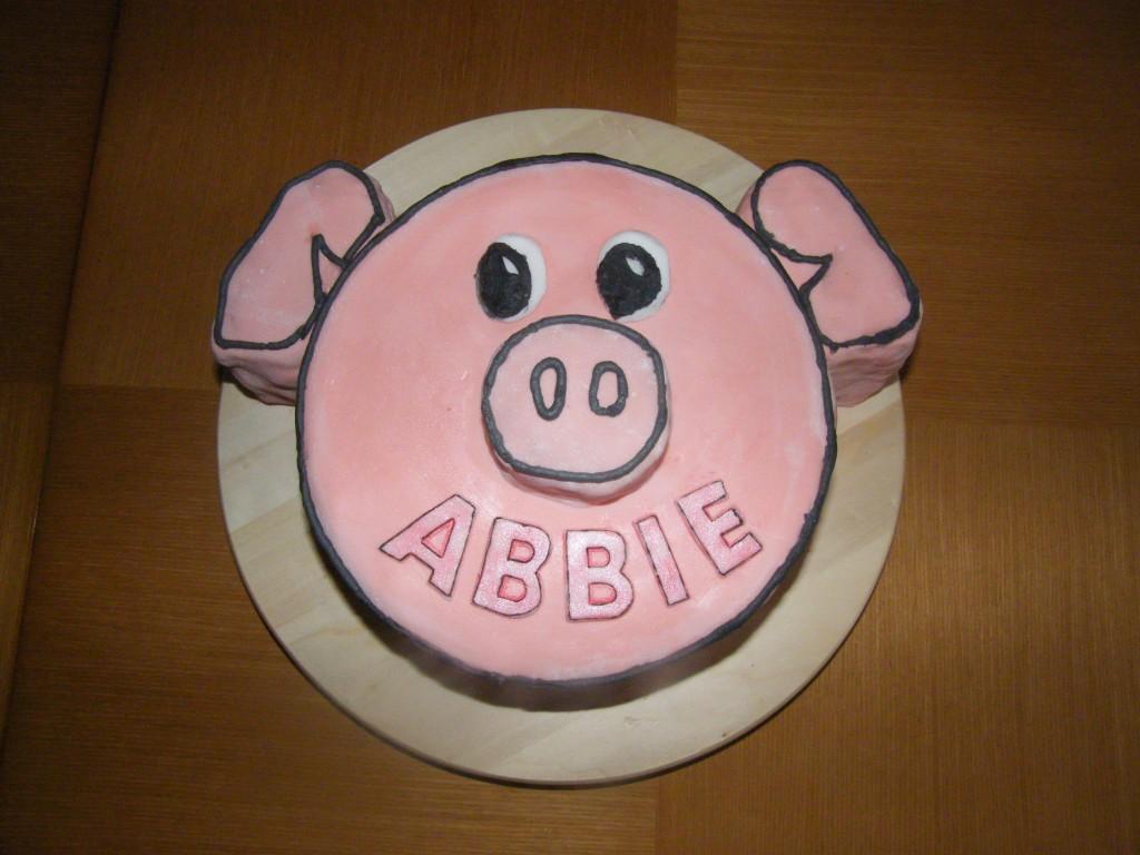 Piggy cake (Gluten Free)