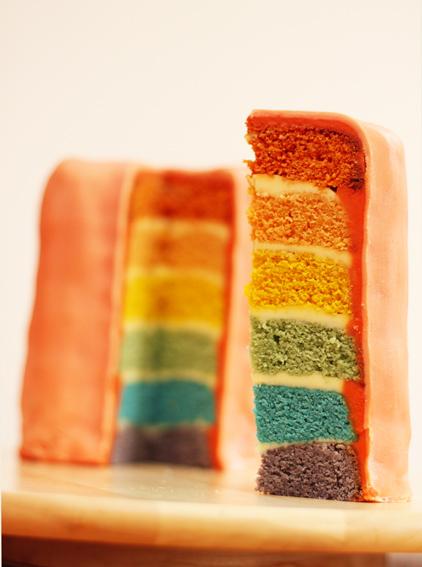 Rainbow sponge