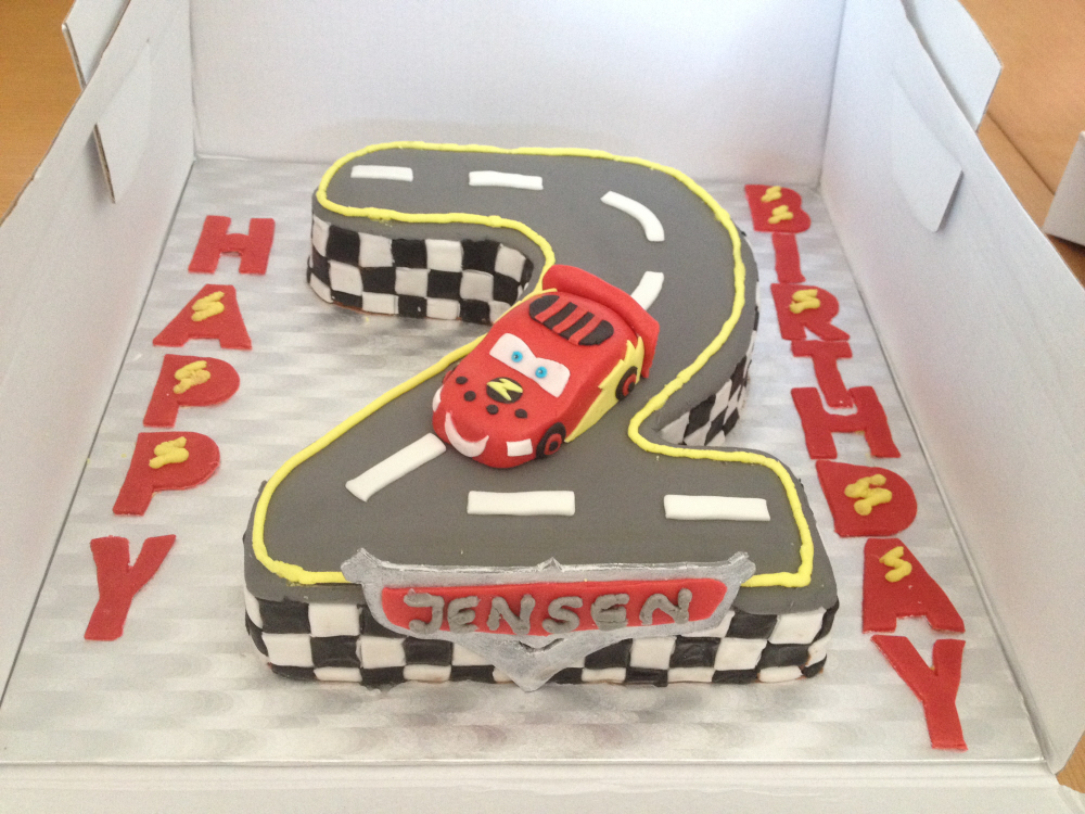 Cars Lightning McQueen cake Mummy Cs Cake Pantry