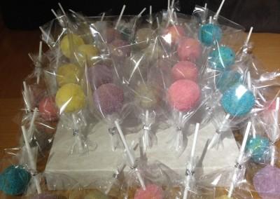 glitterball cakepops
