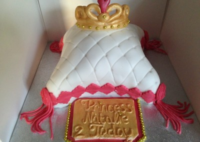Princess Pillow with Tiara & Plaque