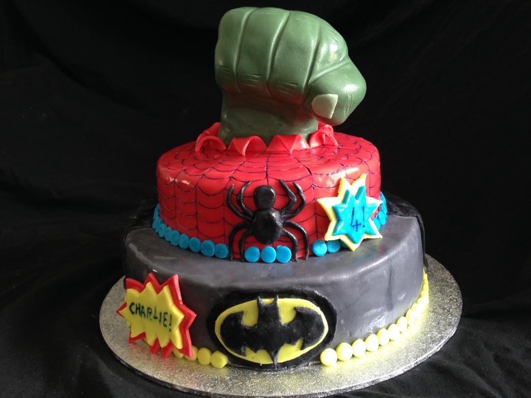 Superheros! Batman, Spiderman & Hulk