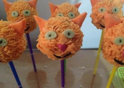Cat cakepops