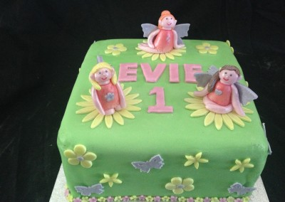 Fairy 1st Birthday cake