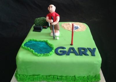 Golfing 50th
