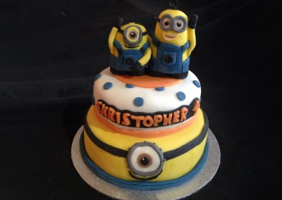 Minions 4th birthday