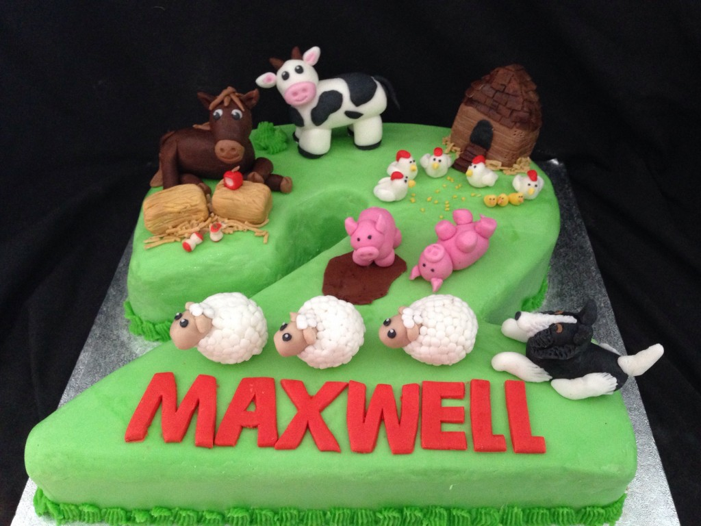 Farm number 2 cake