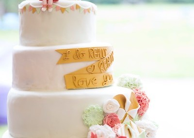 Fete wedding cake
