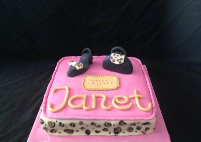 Shoe & Bag cake