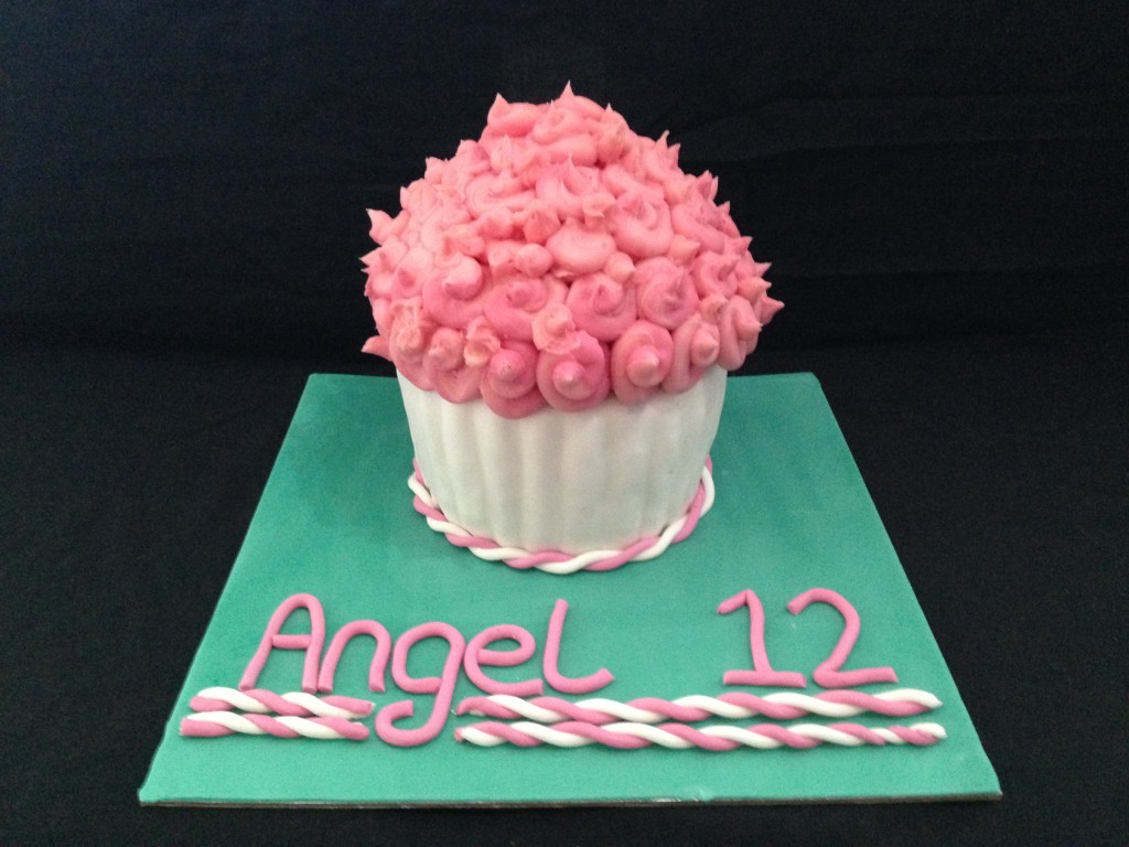 Candy Floss Cupcake