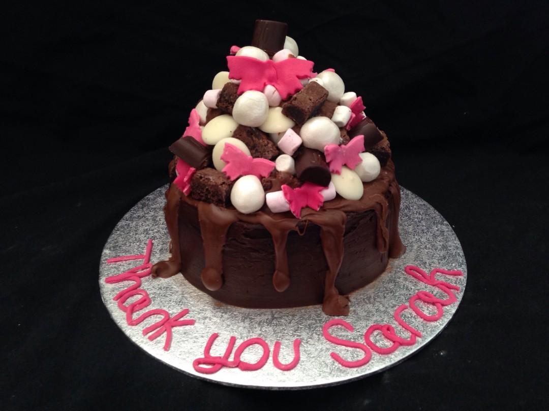 Chocolate mountain thank you!