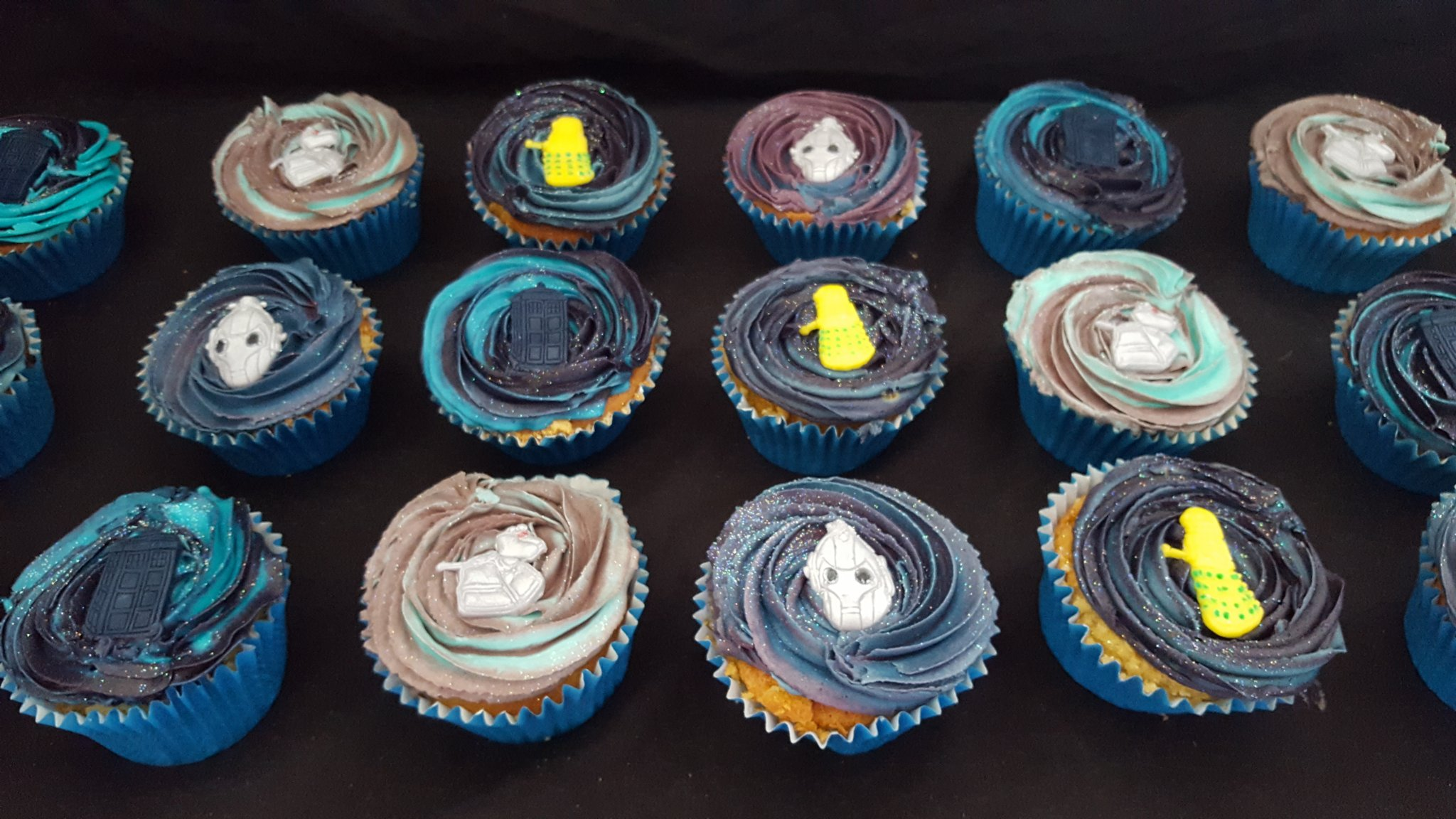 Dr Who cupcakes