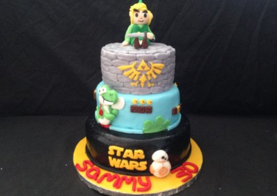 30th cake of interests