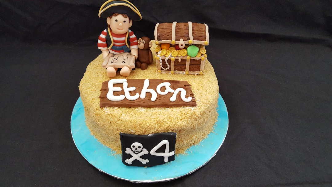 Pirate Cake Mummy Cs Cake Pantry