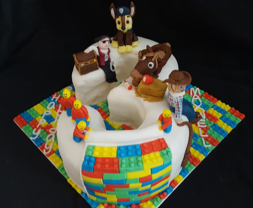 Number 3 cake of favourite things