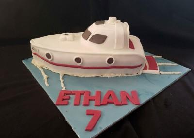 3d speed boat